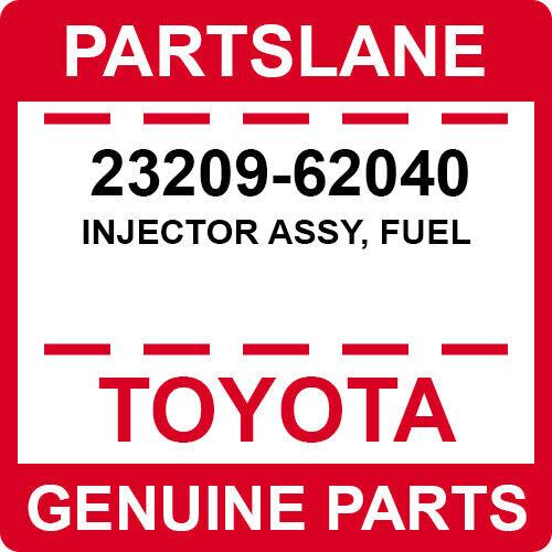 23209-62040 Toyota Oem Genuine Injector Assy, Fuel