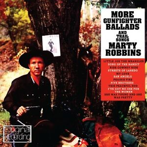 Marty Robbins - More Gunfighter Ballads & Trail Songs [New CD]
