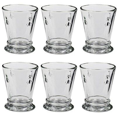 La Rochere Whiskybecher Biene, 270 ml, 6 Stück, Saft Glas Longdrink