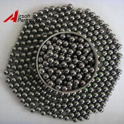 600Pcs Steel Stainless Ammo Ball Hunting Catapult Slingshot Bearing Outdoor Game