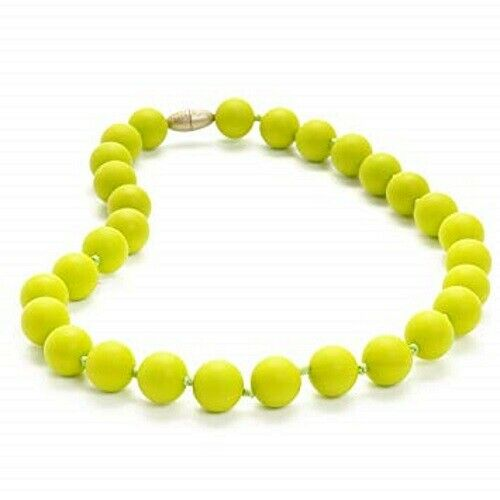 Chewbeads Jane Jr. Necklace Chartreuse-Stylish for Mom & Per