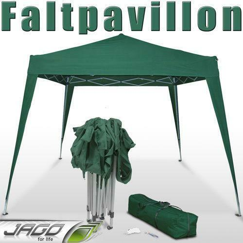 pavillon partyzelt pavillion gartenzelt zelt klapp falt ebay. Black Bedroom Furniture Sets. Home Design Ideas