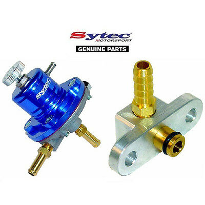 SYTEC SAR FUEL PRESSURE REGULATOR (BLUE) + FUEL RAIL ADAPTOR - MAZDA MX5 1.6 1.8