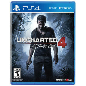Uncharted 4 PlayStation 4 mint condition