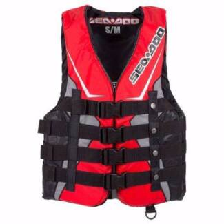 SEA-DOO SANDSEA LIFE JACKET/VEST RED - S,M,L,XL,2XL,3XL