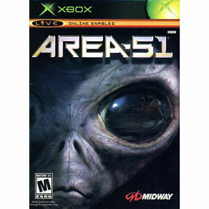 Area 51 For Microsoft Xbox Brand New Factory Sealed