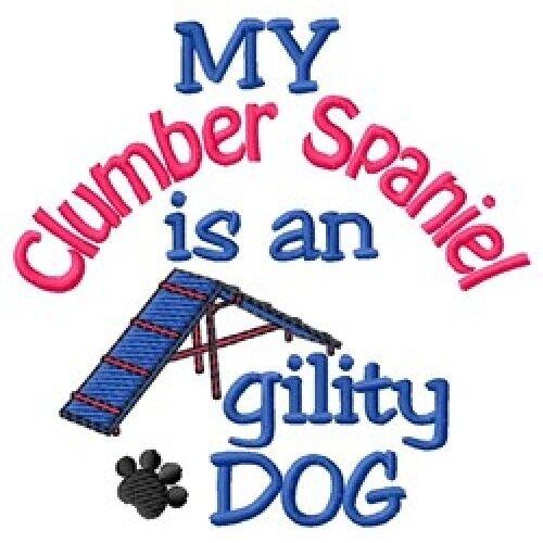 My Clumber Spaniel is An Agility Dog Short-Sleeved Tee - DC1884L