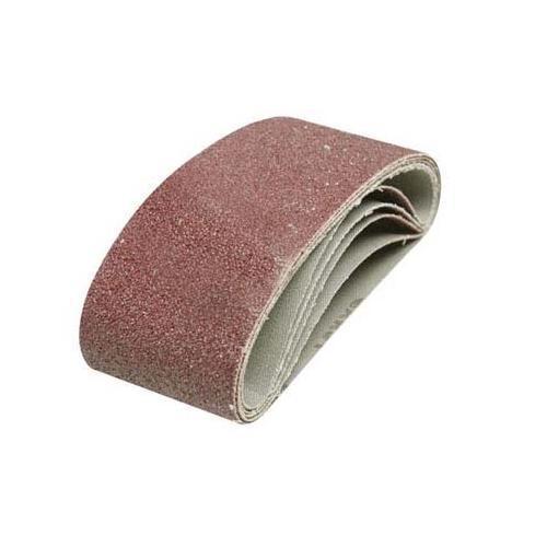 Silverline Sanding Belts 65 x 410mm 5pk 40 Grit DIY Power Tool Accessories