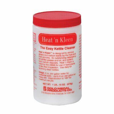 Popcorn Kettle Cleaner, Heat N Kleen, 1 Jar, 31 OZ, Gold Medal -