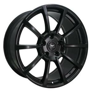 **PROMOTION** MAGS NEUFS 20'' 8.5'' 5 X 114.3 FATHOM FD-CR (ASB) ALL SATIN BLACK