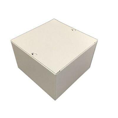Bud Industries Jb-3955 Steel Nema 1 Sheet Metal Junction Box With Lift-off...