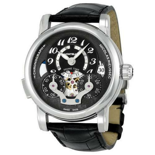 Mens automatic montblanc watch ebay for Montblanc watches