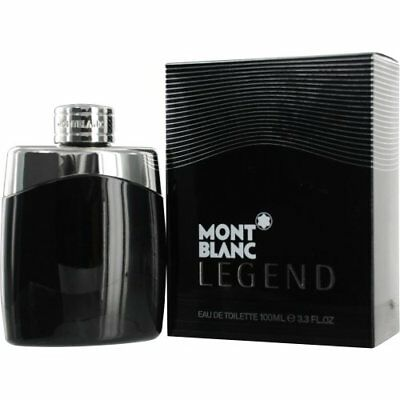Mont Blanc Legend 3.3 / 3.4 oz EDT Cologne for Men Brand New In Box