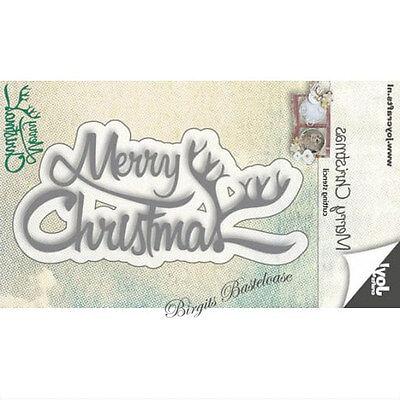 Joy!Crafts Stanzschablone Text Merry Christmas 6002/0591 ()