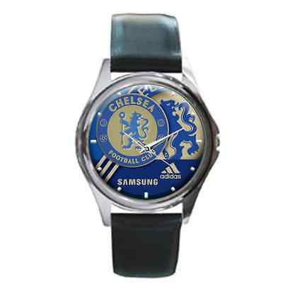 NEW CUSTOM FANS FC CHELSEA FOOTBALL SPORT LEATHER WATCH FIT YOUR WRIST