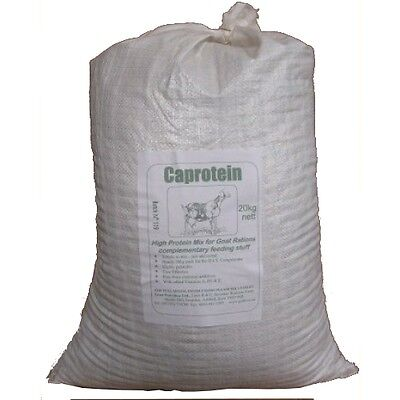 Caprotein 20kg sack - high protein feed concentrate for Goats