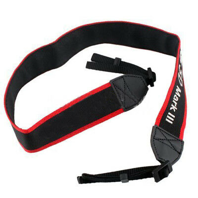 New Canon for EOS Mark 5D III Camera Shoulder Neck Belt Strap YU