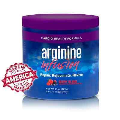 Arginine Infusion  5,000 L-arginine 1,000 L-citrulline CoQ10 & AstraGin 3 Jars