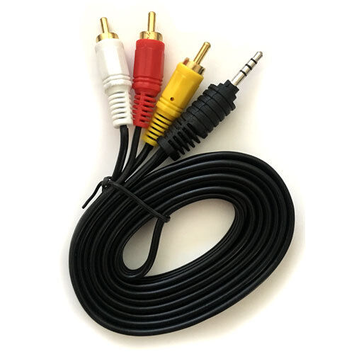 AV A/V Audio Video TV-Out HDTV Cable Cord Lead For Toshiba P
