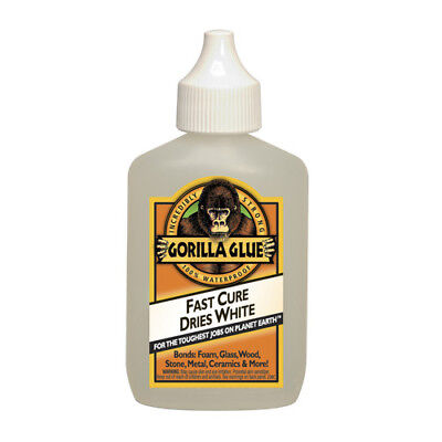 Gorilla Glue 2oz Dries White 2x Faster 100 Waterproof New Incredibly Strong
