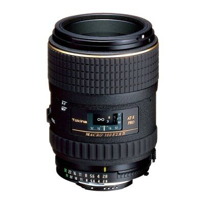 Tokina 100mm f/2.8 AT-X M100 AF Pro D Macro Autofocus Lens for Nikon AF-D, used for sale  Shipping to India