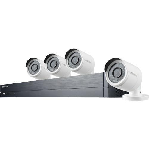 Samsung 4-Channel, 4-Camera Outdoor Wired 1080p 1TB DVR Surveillance System SDH-B73043BFN