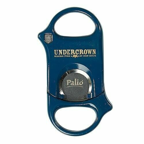 Palio Cigar Cutter - Surgical Steel - Undercrown Blue - New in Box