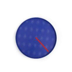 kikkerland Milton Glaser PRESTO WALL CLOCK rotating dots create atmosphere CL42