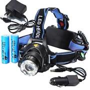 LED Head Torch Rechargeable