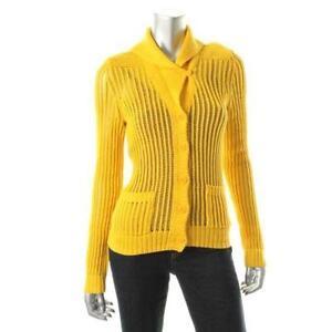 Yellow Cardigan Sweaters Ebay