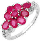 Filling Ruby Fine Rings Pink