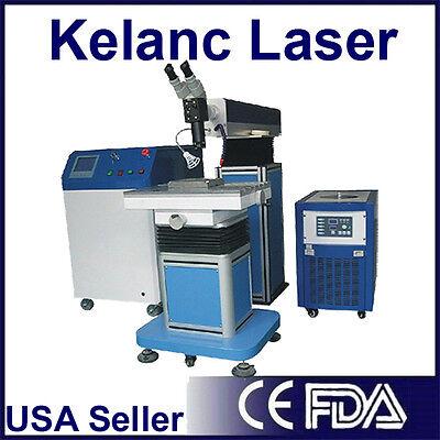Fda Kelan C 200 Watt Laser Mold Welding Machine Brand New With Warranty