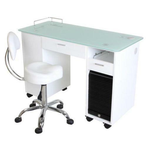 Manicure station ebay for Nail salon table