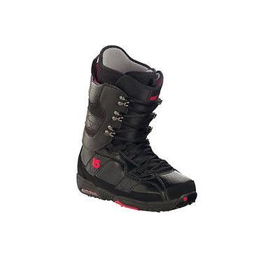 BURTON HAIL black/red men's boots scarponi da snowboard uomo