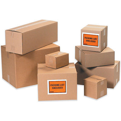 4x4x10 100 Shipping Packing Mailing Moving Boxes Corrugated Cartons