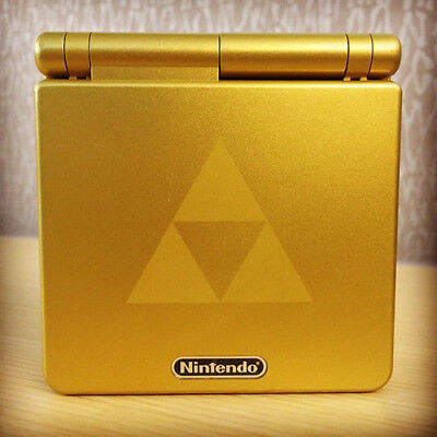GBA SP Limited Zelda Triforce Edition