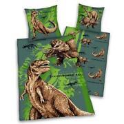 Dinosaurier Bettwäsche