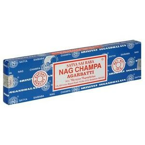 Nag Champa 100 Grams Box Original Satya Sai Baba Incense Sticks - 2013 Series