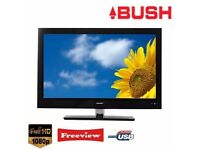 "BUSH 40"" INCH FULL HD 1080P LCD TV WITH BUILT IN FREEVIEW IN EXCELLENT CONDITION"
