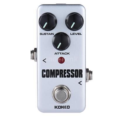 KOKKO FCP2 Mini Compressor Pedal Portable Guitar Effect Pedal New E5T9