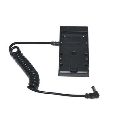 Canon LP-E6 Series to LCD Monitor / LED Light Battery Adapter Plate by ProAm -