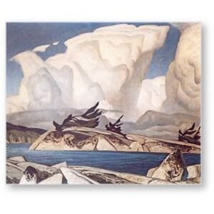 "A.J. Casson Limited Edition ""Thunderheads"""