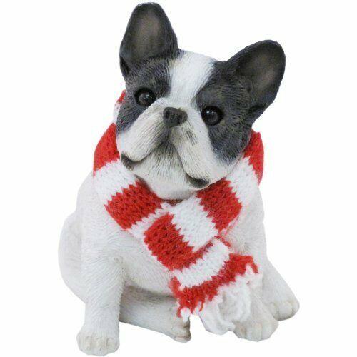 ♛ SANDICAST Dog Figurine Sculpture French Bulldog