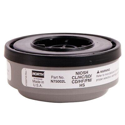 2 Pcs Honeywell North N75002L Acid Gas Cartridge for 5500 RU8500 7700 Series
