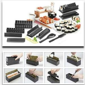 SUSHI MAKER KIT - EASY CHEF SET MOULD ROLLER CUTTER - FREE SHIPPING