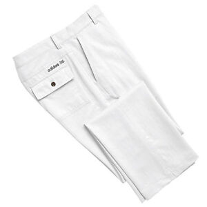 NWT adidas Men's Fashion Performance Solid Golf Pants Trousers White 36x32 $70
