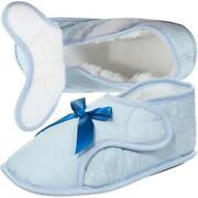 Womens Velcro Slippers