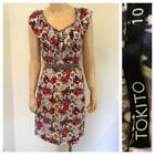 TOKITO Dresses for Women with Belt