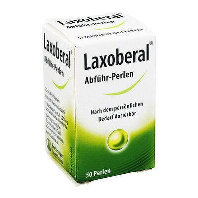 Laxoberal Abführmittel 50 Perlen Verstopfung Magen (0,22€/1 St.)