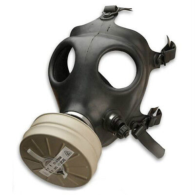 Israeli Gas Mask with Genuine New Military Sealed NBC NATO 40 mm Filter